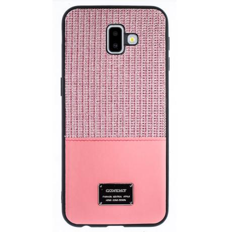 Husa Magnetica Samsung Galaxy J6 Plus, Roz Glitter CTK