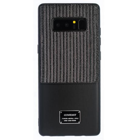Husa Magnetica Samsung Galaxy Note 8, Negru Glitter CTK