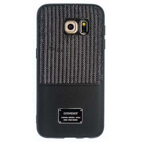 Husa Magnetica Samsung Galaxy S7, Negru Glitter CTK