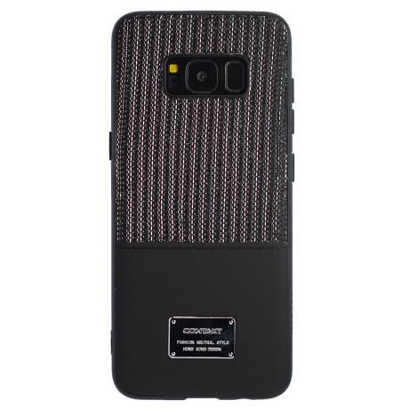 Husa Magnetica Samsung Galaxy S8, Negru Glitter CTK