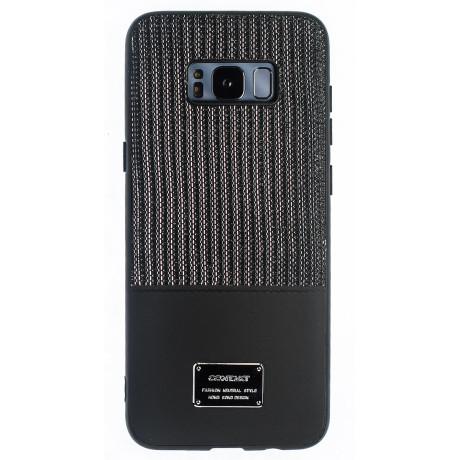 Husa Magnetica Samsung Galaxy S8 Plus, Negru Glitter CTK