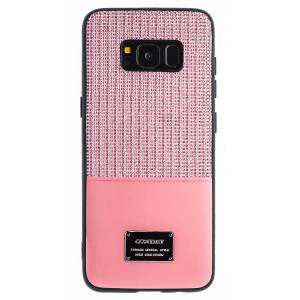 Husa Magnetica Samsung Galaxy S8, Roz Glitter CTK