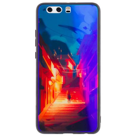 Husa Oglinda Huawei P10 Plus, Abstract