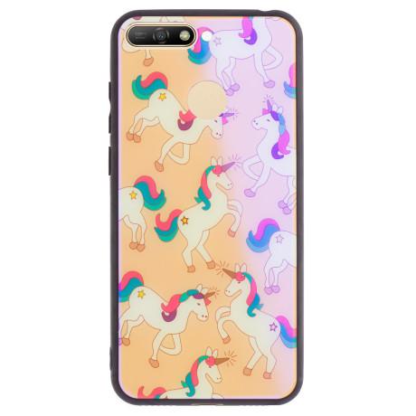 Husa Oglinda Huawei Y6 2018, Unicorn