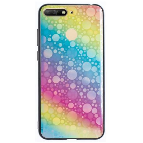 Husa Oglinda Huawei Y6 2018,Rainbow