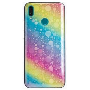Husa Oglinda Huawei Y9 2019, Rainbow