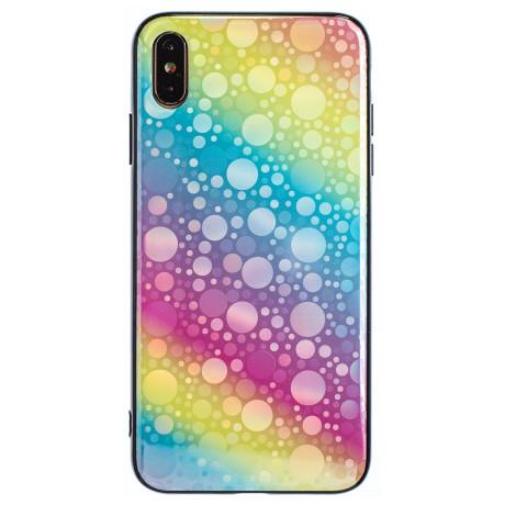 Husa Oglinda iPhone XS Max, Rainbow