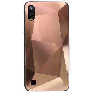 Husa Oglinda Prism Samsung Galaxy A10/M10 Roz Gold