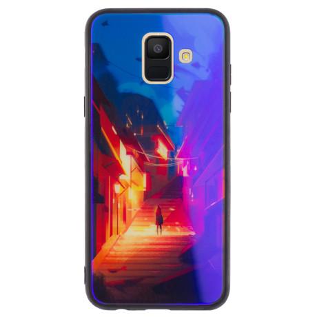 Husa Oglinda Samsung Galaxy A6 2018, Abstract