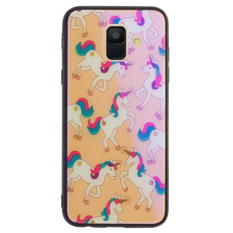 Husa Oglinda Samsung Galaxy A6 2018, Unicorn