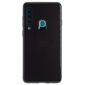 Husa Oglinda Samsung Galaxy A9 2018, Negru Caro