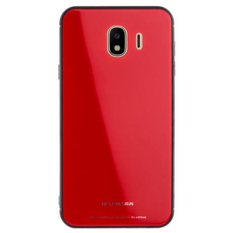 Husa Oglinda Samsung Galaxy J4 2018, Rosu