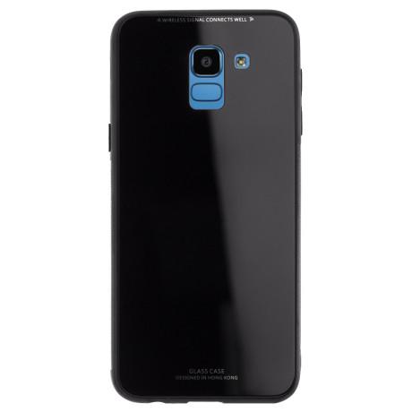 Husa Oglinda Samsung Galaxy J6 2018, Neagra