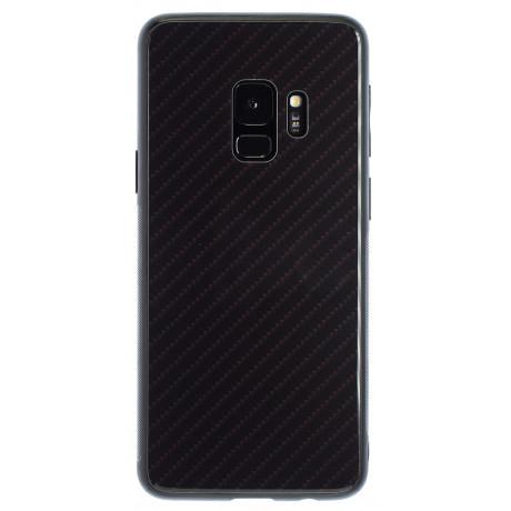 Husa Oglinda Samsung Galaxy S9, Negru Caro