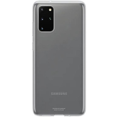 Husa Originala Samsung Galaxy S20 Plus, Clear Cover, Transparent