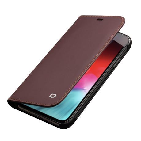 Husa piele iPhone XS Max Classic Maro Qialino