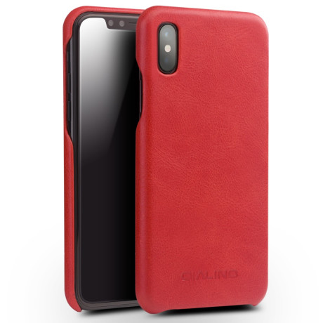 Husa piele iPhone X/Xs 5.8'' Qialino Rosie