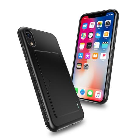 Husa Pocard Series iPhone XR Dux Ducis Neagra