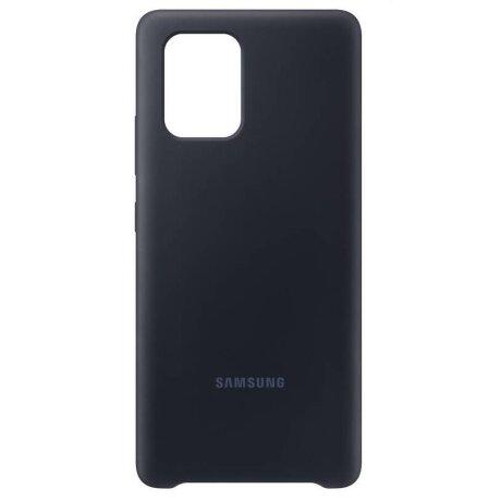 Husa Samsung Cover Silicone pentru Samsung Galaxy S10 Lite Black