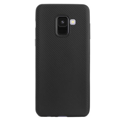 Husa Samsung Galaxy A8 2018, Contakt silicon negru