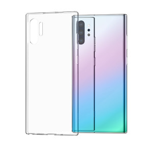 Husa Samsung Galaxy Note 10 Plus Transparent Light TPU Hoco