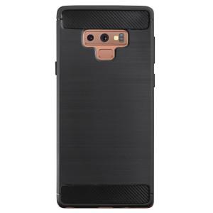 Husa Samsung Galaxy Note 9, Contakt silicon negru