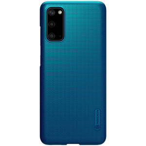 Husa Samsung Galaxy S20, Super Frosted Albastru, Nillkin