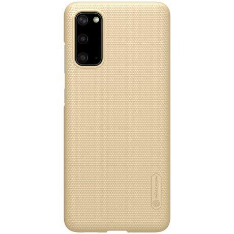 Husa Samsung Galaxy S20, Super Frosted, Auriu Nillkin