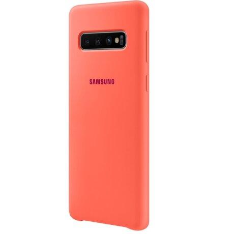 Husa Silicon Cover pentru Samsung Galaxy S10 Pink