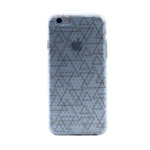 Husa silicon fashion 3D iPhone 6/6S, Contakt Transparenta