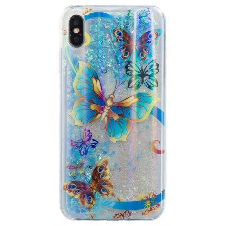 Husa Silicon Fashion iPhone XR,  Liquid Argintie