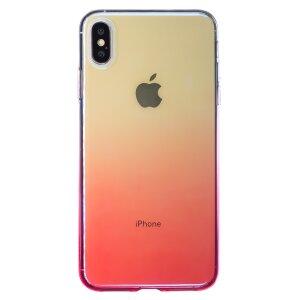 Husa Silicon Glow iPhone XS MAX, Baseus Roz