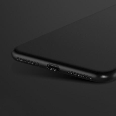 Husa silicon Hoco fascination iPhone XS negru