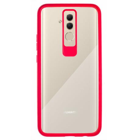 Husa silicon Huawei Mate 20 Lite, Rama Rosie