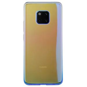 Husa silicon Huawei Mate 20 Pro, Multicolor-Albastra