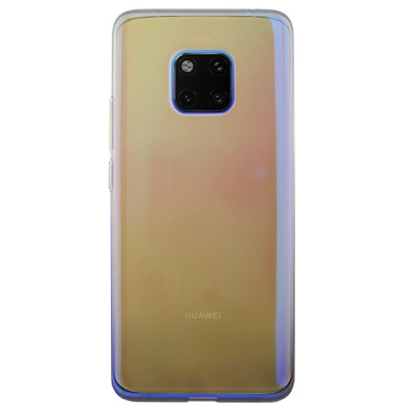 Husa silicon Huawei Mate 20 Pro, Multicolor-Neagra