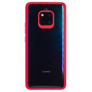 Husa silicon Huawei Mate 20 Pro, Rama Rosie