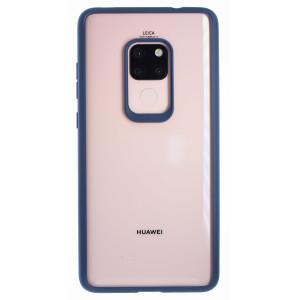 Husa silicon Huawei Mate 20, Rama Albastra
