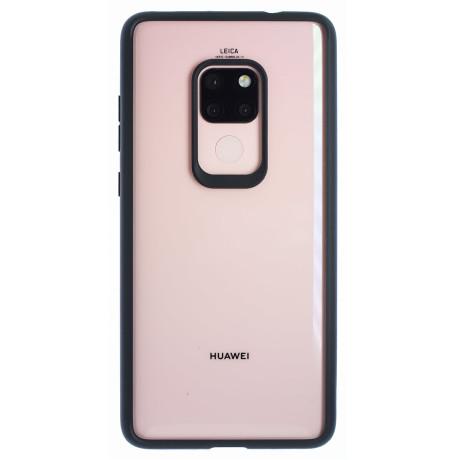 Husa silicon Huawei Mate 20, Rama Neagra