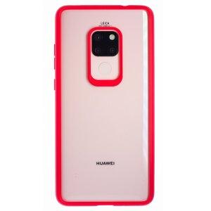 Husa silicon Huawei Mate 20, Rama Rosie