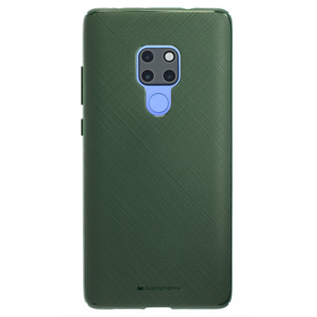 Husa Silicon Huawei Mate 20, Stylelux Verde