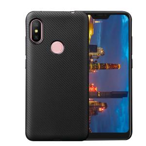 Husa Silicon Huawei P Smart 2019, Negru Carbon Mat