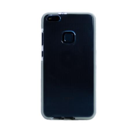 Husa silicon Huawei P10 Lite, Contakt Rama Alba