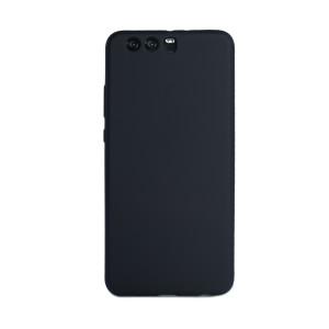 Husa silicon Huawei P10 Plus, Contakt Neagra