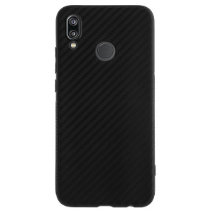 Husa Silicon Huawei P20 Lite, Carbon Negru