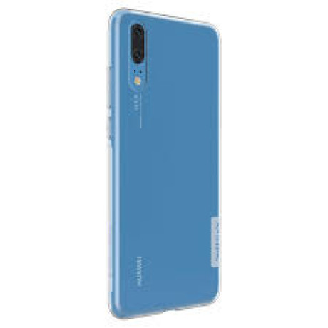 Husa silicon Huawei P20, Nillkin Transparenta