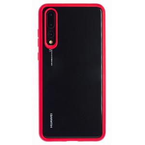 Husa silicon Huawei P20 Pro, Rama Rosie
