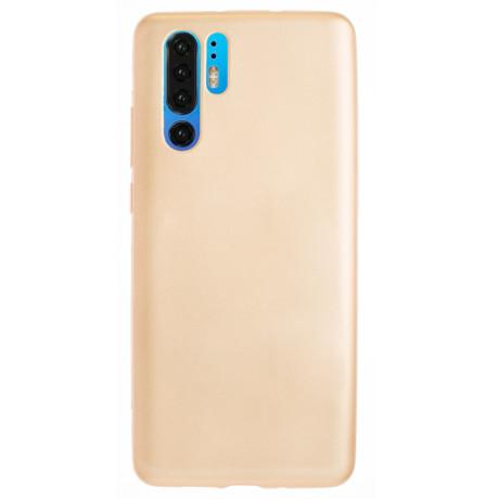 Husa Silicon Huawei P30 Pro, Auriu