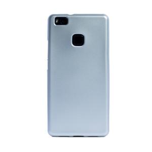 Husa silicon Huawei P9 Lite, Contakt Argintie