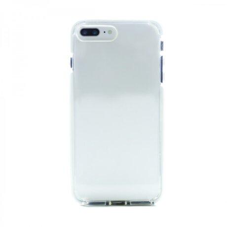 Husa Silicon iPhone 7 Plus (Rama Alb)